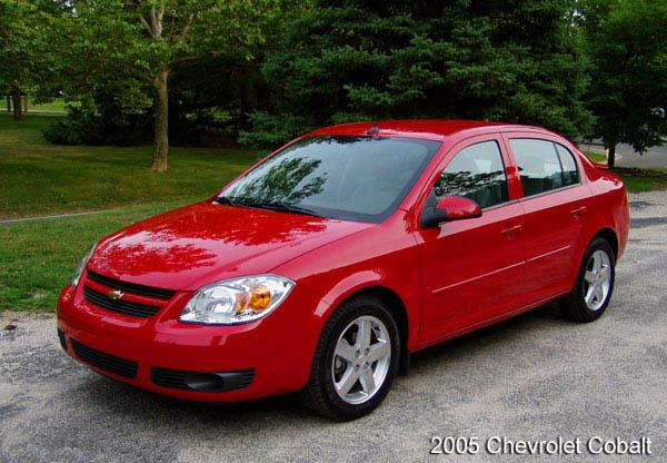 Chevrolet Cobalt История модели фотогалерея и список