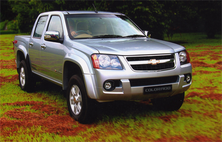 Chevrolet Colorado: 8 фото
