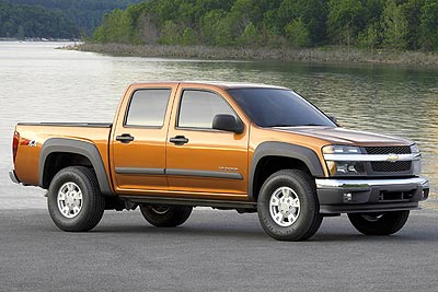 Chevrolet Colorado: 9 фото