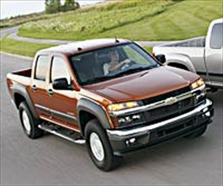 Chevrolet Colorado: 10 фото
