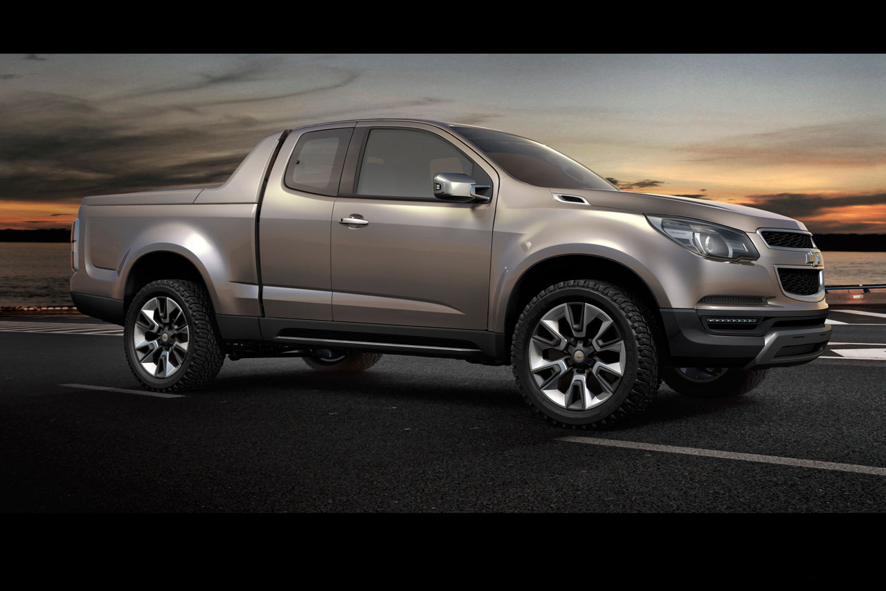 Chevrolet Colorado: 11 фото