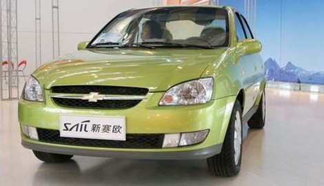 Chevrolet Sail/S-RV: 3 фото