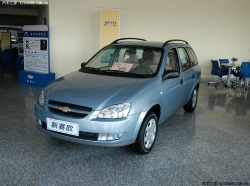 Chevrolet Sail/S-RV: 04 фото