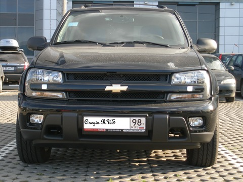 Chevrolet TrailBlazer: 9 фото