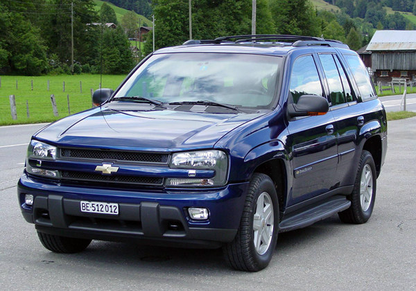Chevrolet TrailBlazer: 10 фото