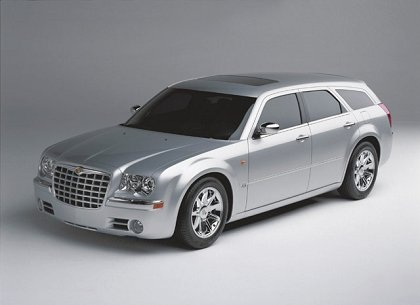 Chrysler 300C Touring: 10 фото