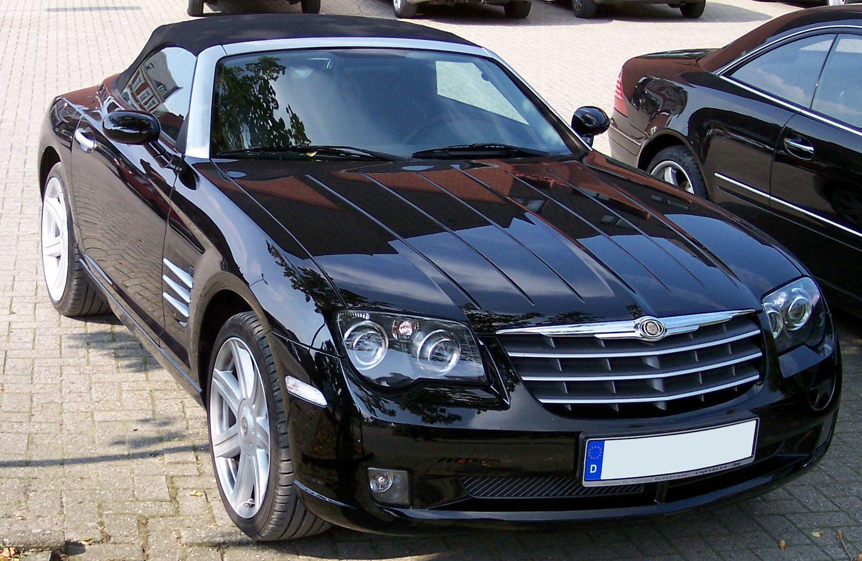 Chrysler Crossfire: 04 фото