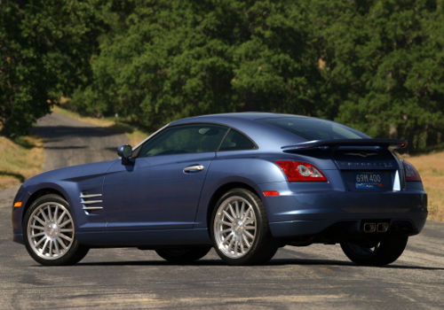Chrysler Crossfire: 08 фото