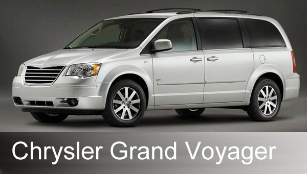 Chrysler Grand Voyager: 08 фото