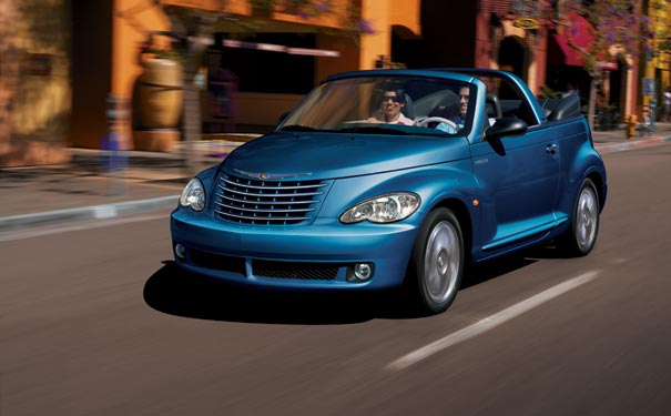 Chrysler PT Cruiser Cabrio: 02 фото