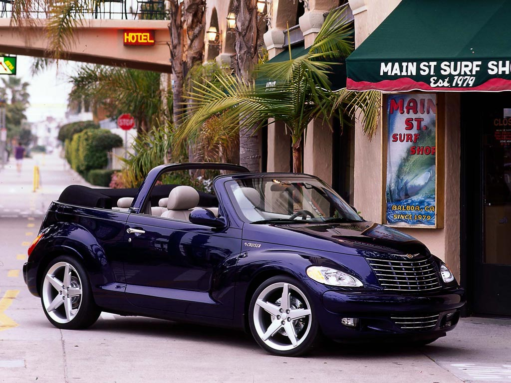 Chrysler PT Cruiser Cabrio: 07 фото