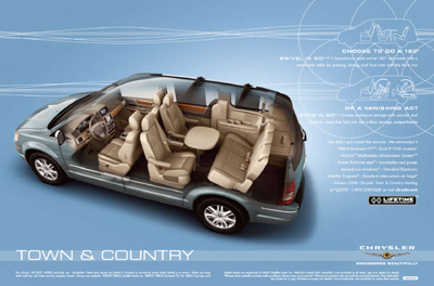 Chrysler Town and Country: 3 фото