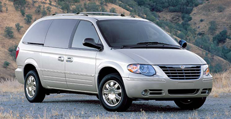 Chrysler Town and Country: 08 фото