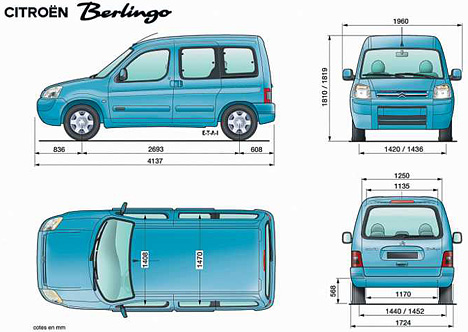 Citroen Berlingo: 9 фото