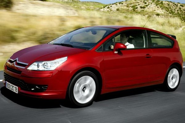 Citroen C4 Coupe: 10 фото