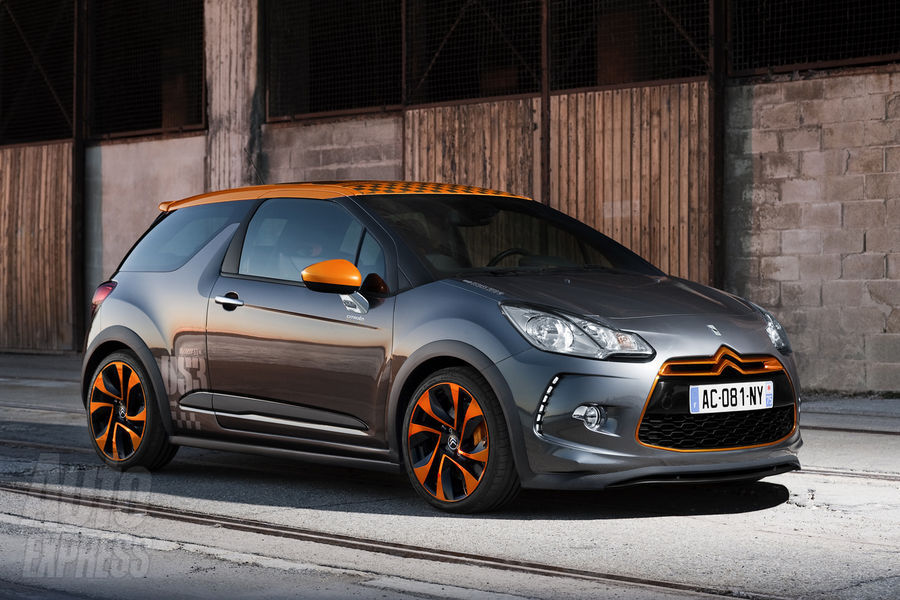 Citroen DS3 Racing: 07 фото