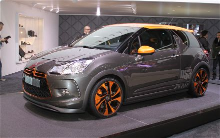 Citroen DS3 Racing: 11 фото