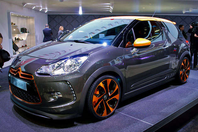 Citroen DS3 Racing: 12 фото