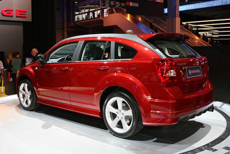 Dodge Caliber SRT: 10 фото