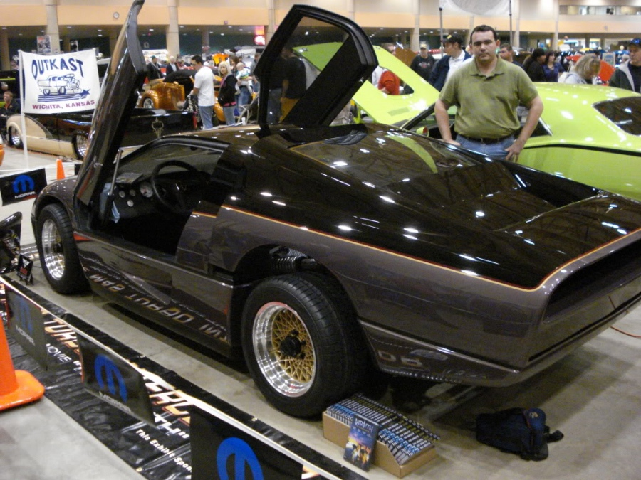 Dodge M4S Turbo Interceptor: 09 фото