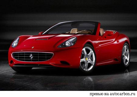 Ferrari California: 05 фото