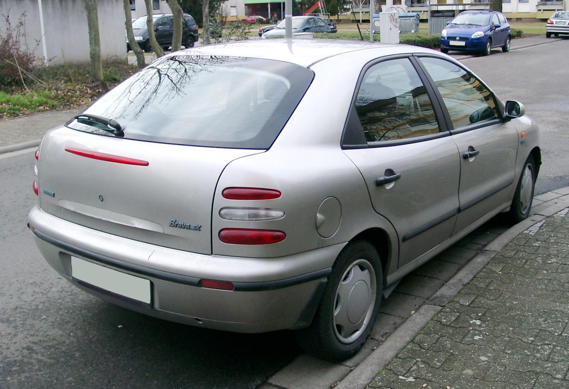 фиат брава 1999