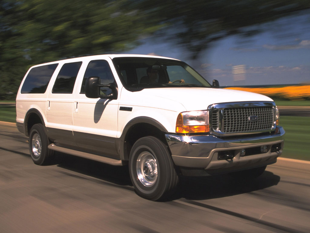 Ford Excursion - 1024 x 768, 06 из 16