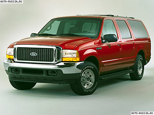 Ford Excursion: 7 фото