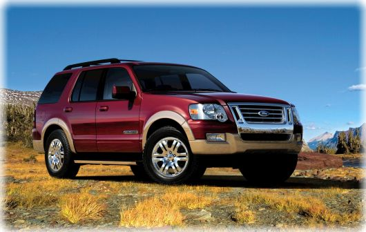 Ford Explorer IV: 8 фото
