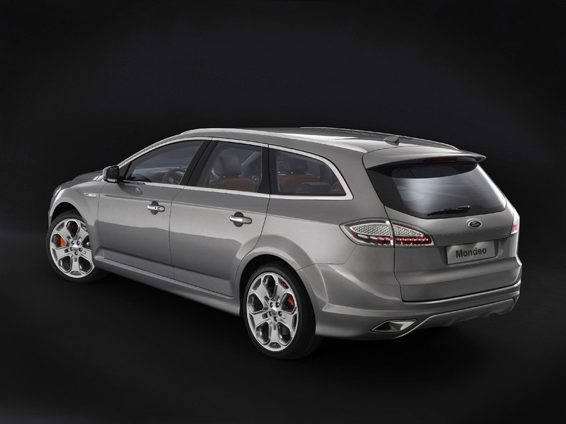 Ford Mondeo Wagon: 09 фото