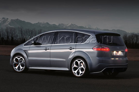 Ford S-Max: 12 фото