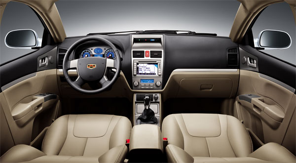 Geely Emgrand: 3 фото