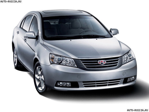 Geely Emgrand: 4 фото
