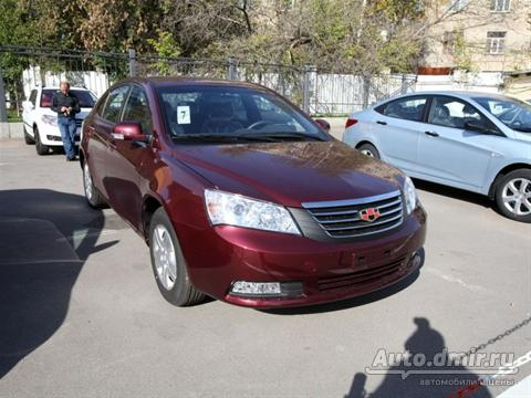 Geely Emgrand: 5 фото