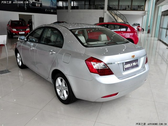 Geely Emgrand: 12 фото