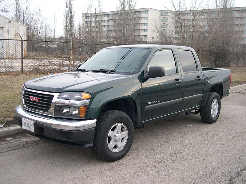 GMC Canyon: 07 фото