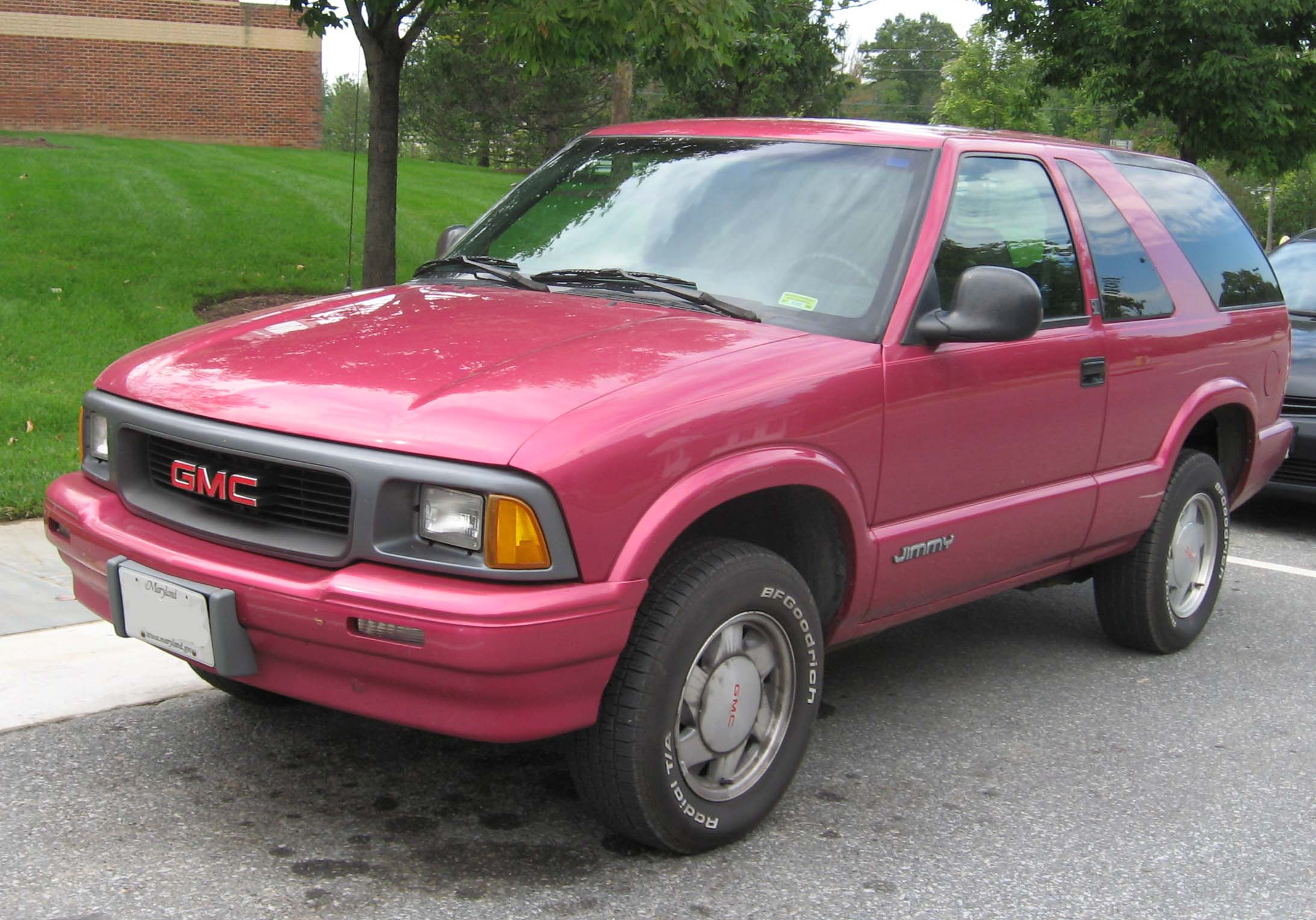 GMC Jimmy: 06 фото
