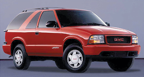 GMC Jimmy: 08 фото