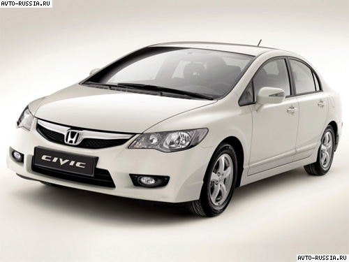 Honda Civic 4D VIII: 02 фото