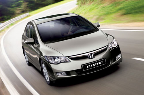Honda Civic 4D: 3 фото