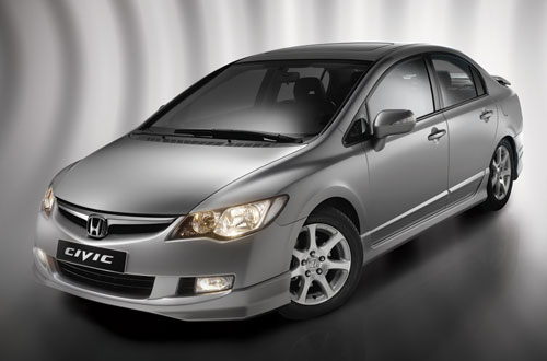 Honda Civic 4D: 4 фото
