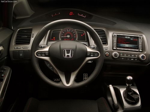 Honda Civic 4D: 6 фото
