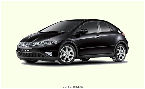 Honda Civic 5D: 11 фото