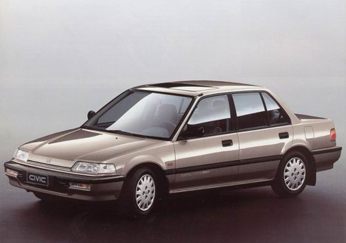 Honda Civic IV: 12 фото