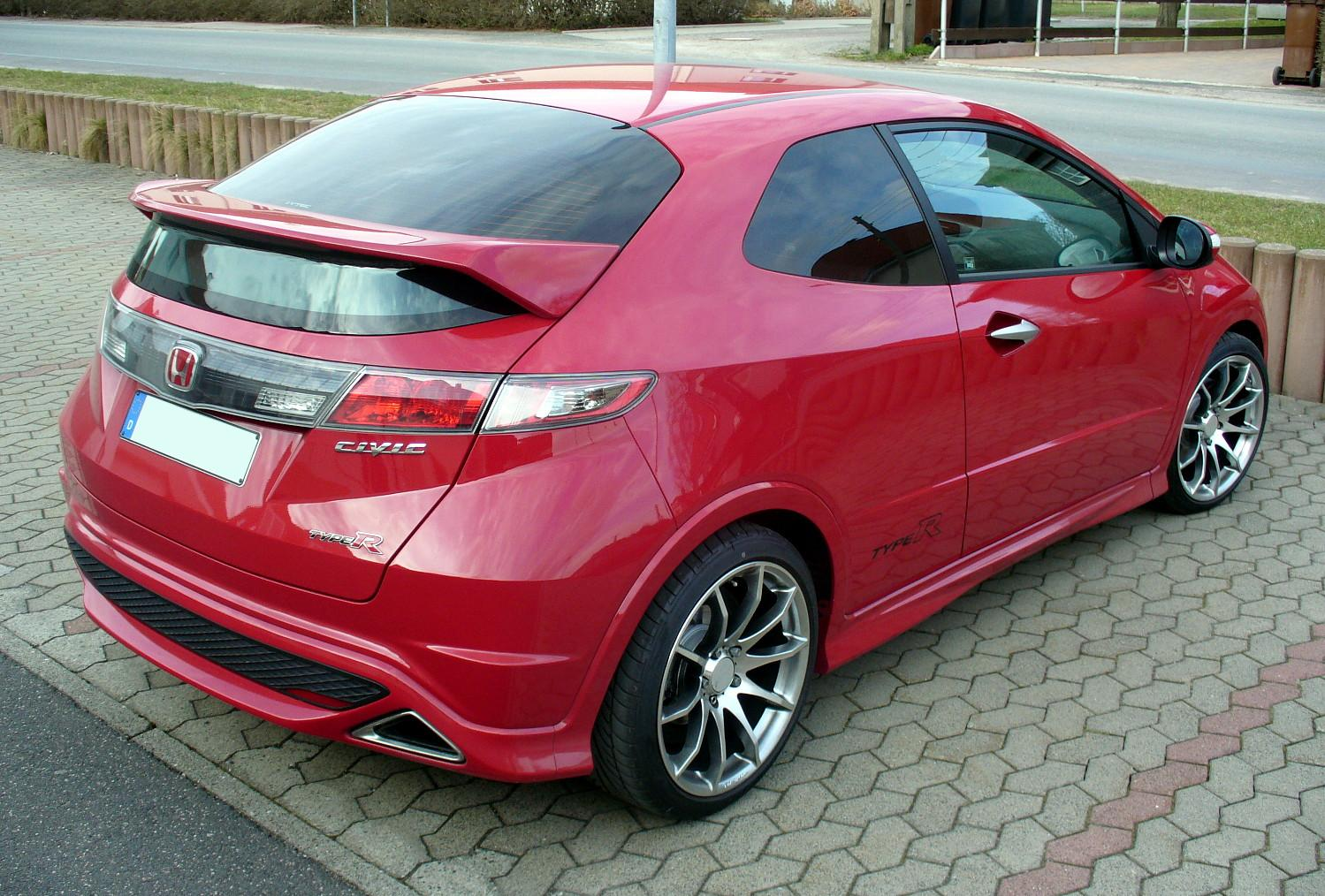 Honda Civic Type-R: 11 фото