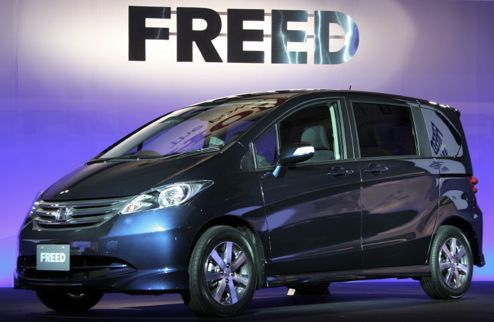 Honda Freed: 10 фото