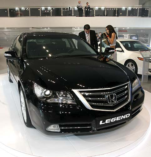 Honda Legend I: 06 фото