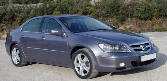 Honda Legend I: 09 фото