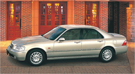 Honda Legend III: 08 фото