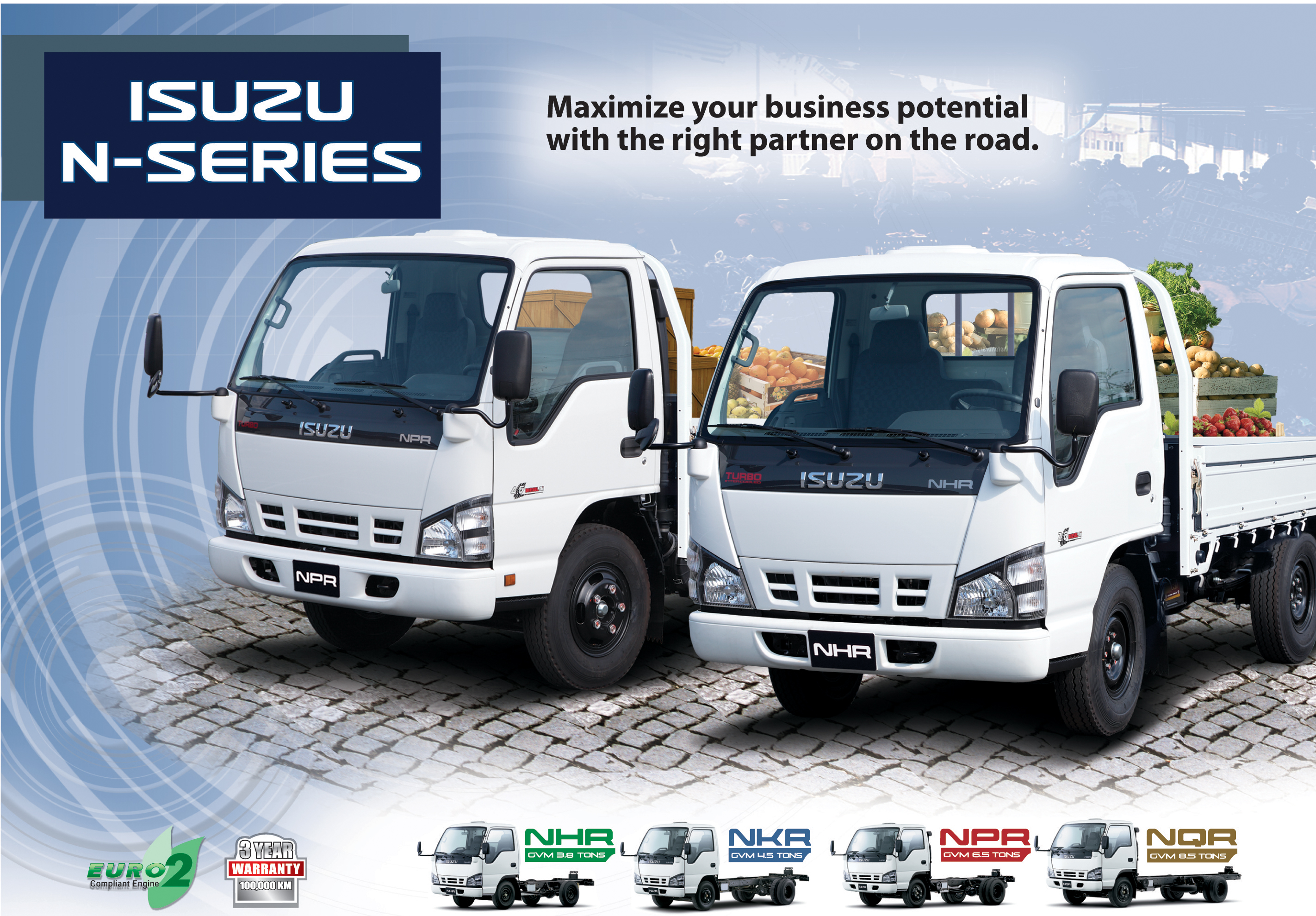 Isuzu N-Series: 2 фото